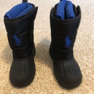 Boys Polo Ralph Lauren Snowboots, Size 13